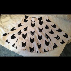H&M Cat Skirt